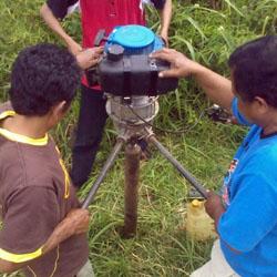 Perbandingan Sumur Bor Mesin dan Manual