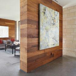 Material untuk membuat sekat ruang dan kelebihannya - Parete divisoria in legno per interni ...