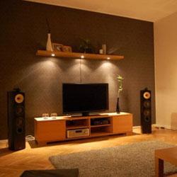 Mengatur Sistem Pencahayaan Dan Interior Ruang Televisi Kumpulan