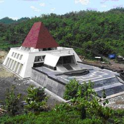 Arsitektur Museum Karst yang Indah di Jawa Tengah