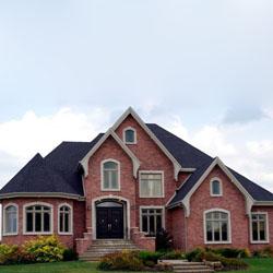 arsitektur rumah batu bata yang mengagumkan