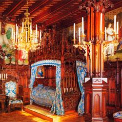 interior istana kuno di dunia