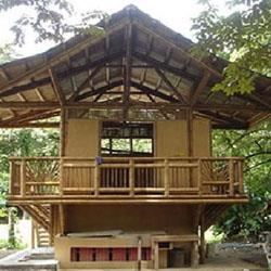 konsep konstruksi rumah kayu dan bambu kumpulan artikel