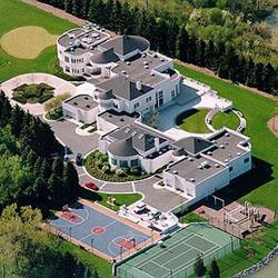 rumah atlet terkenal sedunia