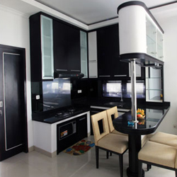 Jasa Pembuatan Kitchen Set Pekerjaan Pelaksanaan Borongan